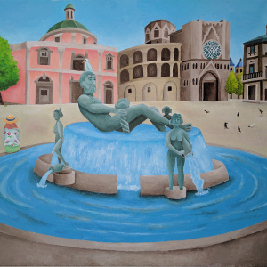 Valencia Fountain